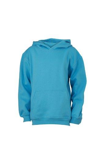 James & Nicholson Sweatshirt Hooded Sweat Junior Felpa Bambino