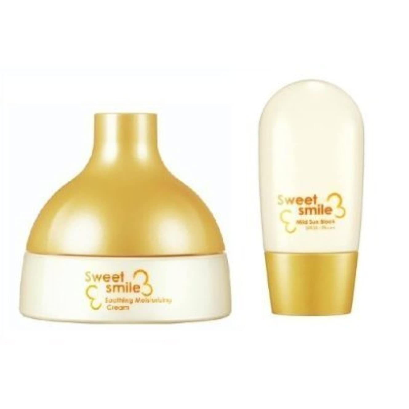 締め切り改修するソケットSU:M37, Sweet Smile Set for baby (Soothing Moisturising Cream 125ml)