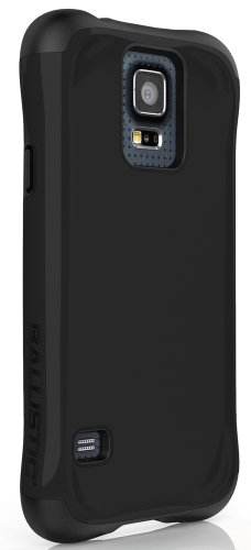 Ballistic Urbanite Case for Samsung Galaxy S5 - Retail Packaging - Black