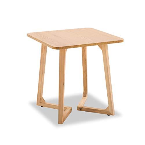 ZIJUAN Table De Salon Nordique Salon Salle À Manger Canapé-lit Plusieurs Bureaux De Rangement d'angle (Couleur : Natural-d)