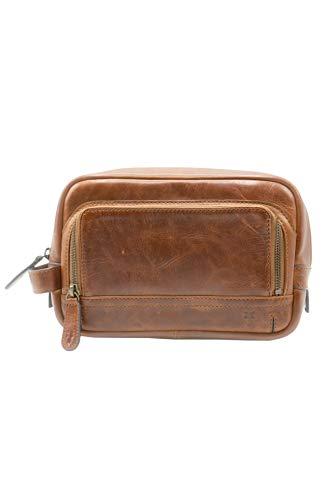 Frye Logan Travel case, cognac