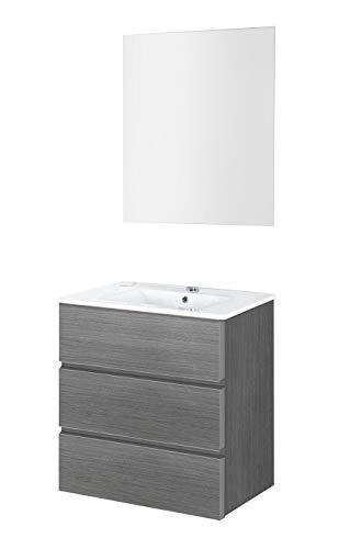 Mueble de baño con 3 cajones con lavabo incluido y en varios diseños disponibles.