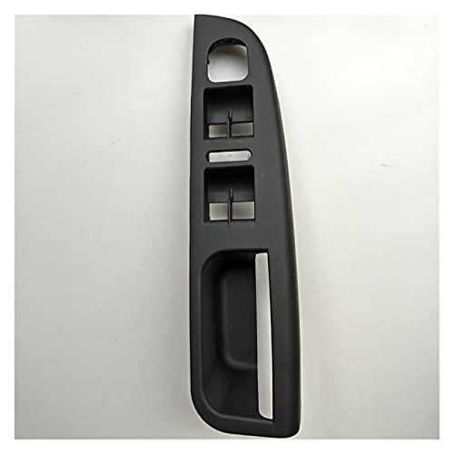 YANGQING Pantalla de Control de Ventana del Interruptor de la Ventana del Controlador de la Izquierda Negra Manija de la Puerta de la Base 1K4 867 049 C VW Golf Jetta MK5 2005-2010 (Color : Black)