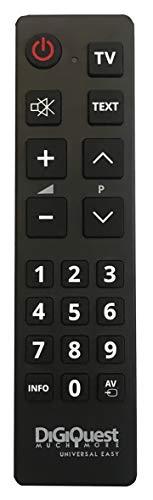 Telecomando Universale EASY - Compatibile con tutte le TV - semplice nell aspetto e facile nell utilizzo