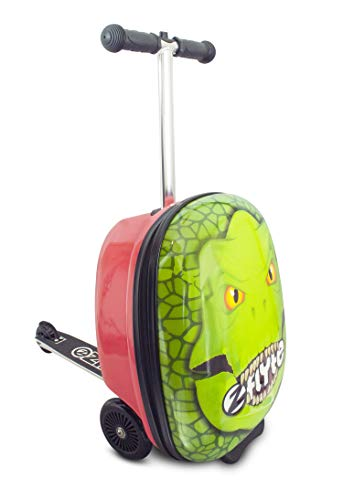 Flyte Darwin The Dinosaur 18' Midi Scooter Suitcase Green