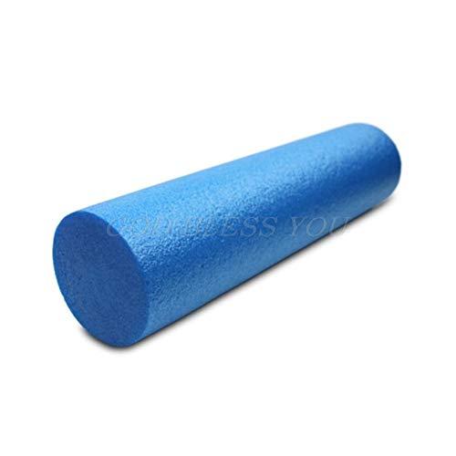 Foam roller Yoga Block Roller Massage Eva Fitness Foam Roller Massage Pilati Body Exercise Fitness And Trigger Point Training 30/45/60 Yoga (Color : 60)