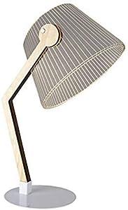 LED Holz Lampe Tischlampe Nachtlicht Schreibtischlampe Warmweiß 3D Illusion Deko USB
