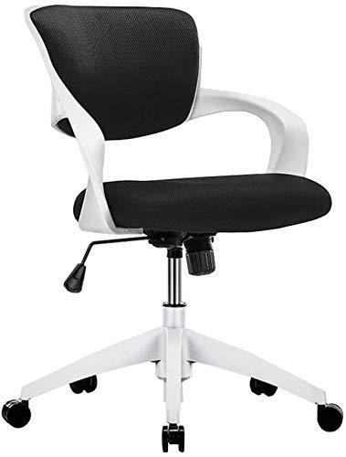TTZY silla de oficina cómoda ejecutiva giratoria negro juego silla PC silla ordenador sillón ajustable altura SHIYUE