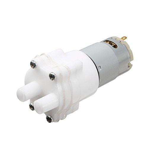 uxcell DC 12V 1.5-2 L/Min Cylindrical Permanent Magnet Pump Motor