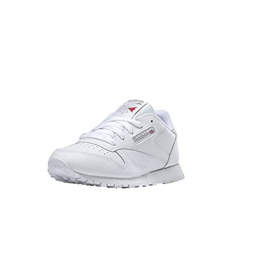 Reebok Classic Leather, Zapatillas de Running Niños, Blanco (White), 35 EU