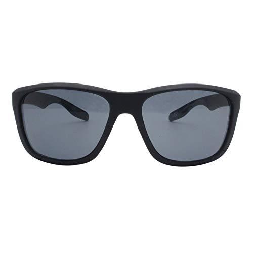 Slazenger Wayfarer - Gafas de sol para hombre negro/gris Talla única