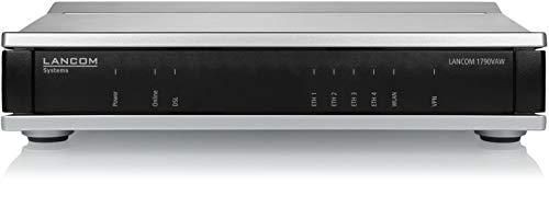 LANCOM 1790VAW Business-Router (EU) mit VDSL-Supervectoring-Modem (abwärtskompatibel zu VDSL2 / ADSL2+), IEEE 802.11ac/n WLAN (867/300 Mbit/s), IPSec-VPN (5 Kanäle/optional 25)