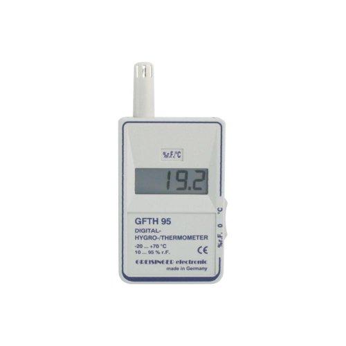 Greisinger GFTH 95 Luftfeuchtemessgerät (Hygrometer) 10% rF 95% rF