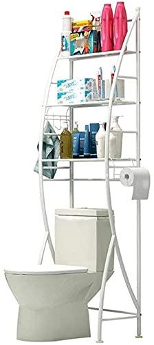 Estantes de ducha Estantes de Baño Estilo Americano Estante de Baño Gratis Inodoro Titular Perforado Estantes