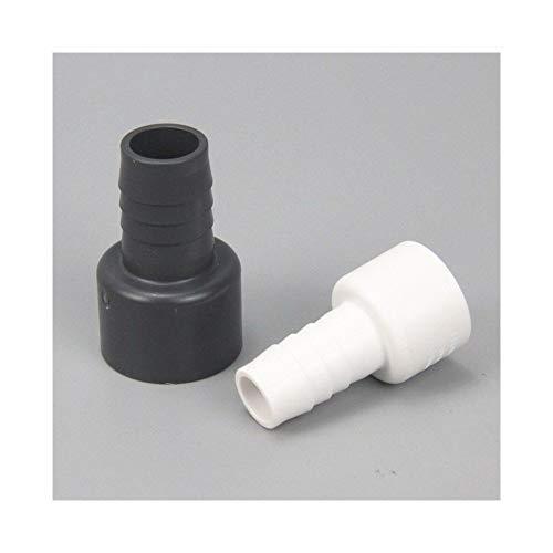 Fuerte y robusto 10pcs Plug I.D20mm a 25 mm manguera de conexión rápida conector de tubo de plástico duro Pagodas Conjunto de tuberías de PVC Adaptador for el jardín de riego Manguera de jardín.