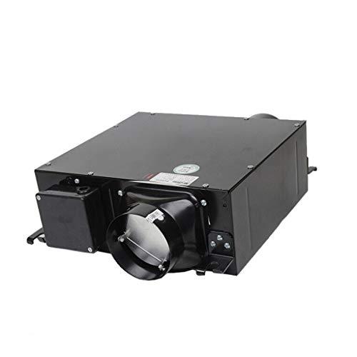 QIQIDEDIAN Extractor silencioso del conducto DPT10-24H Sistema de Aire Fresco del hogar Extractor del Ventilador Extractor del Ventilador