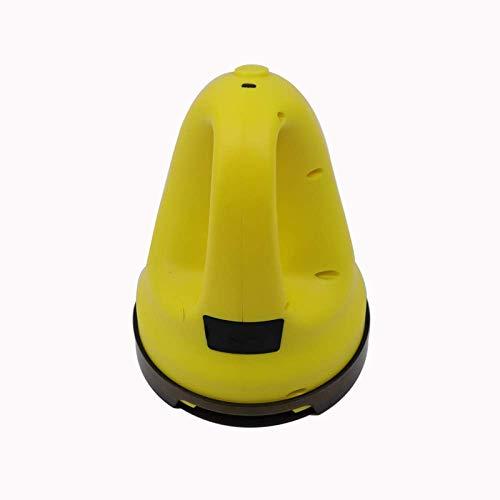 QYC Elektrischer Eiskratzer,Beheizter Eiskratzer für Auto Windschutzscheibe,Beheizter Auto-Eiskratzer Schneeschaufel,Auto Beheizbar zum Entfernen von Frost,Schnee und EIS,USB-Aufladung,16 * 11 * 11cm