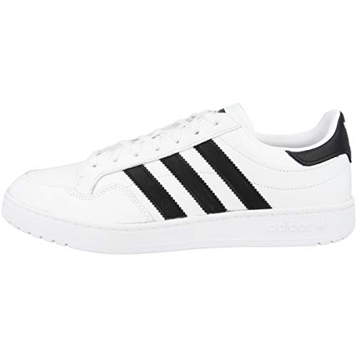 adidas Team Court, Zapatillas Hombre, Cloud White Core Black Cloud White, 43 1/3 EU ✅