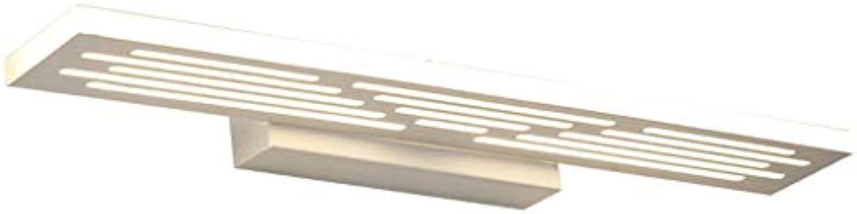 &Badezimmerbeleuchtung Spiegel-Frontleuchte, LED-Badspiegelleuchte Wasserdichtes Anti-Nebel-WC-Make-up-Licht Licht (gre   Dimmable 42cm-16w)