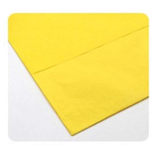 10 stuks vloeipapier bloem kleding overhemd schoenen geschenkverpakkingen ambachtelijke papierrol wijn inpakpapier, donkergeel