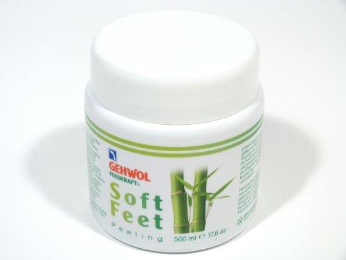 GEHWOL Fusskraft Soft Feet Peeling Fußpeeling mit Bambus, Jojoba, 500 ml