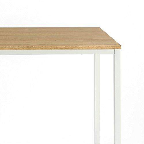 Zinus Jennifer Modern Studio Collection Soho Desk / Table / Computer Table, White