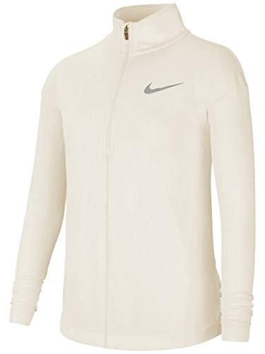 NIKE Run LS Hz Top, Sudadera niños, Coconut Milk/Htr/Reflective Si, L