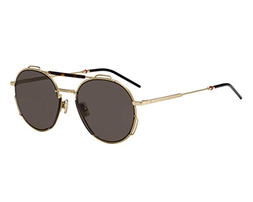 Christian Dior Sonnenbrillen (DIOR0234S 06J2K) gold - havana - grau