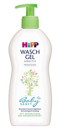 HiPP Babysanft Waschgel und Haar, 1er Pack (1 x 400 ml)