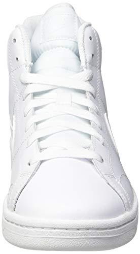 Nike Court Royale 2 Mid, Zapatos de Tenis Mujer, Bianco, 38 EU