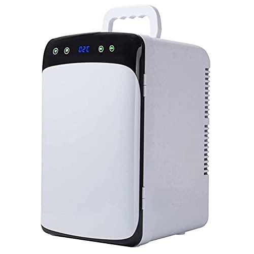 SETSCZY Refrigerador/Enfriador De Vino Compacto De 12 litros con Termostato Digital para Enfriamiento De Doble Núcleo para Automóviles, Viajes, Hogar, Oficina