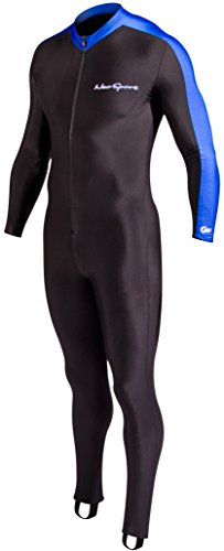 NeoSport Full Body Long Sleeve Lycra Sports Suit for Women and Men – Helps Protect Against UV rays and Skin Irritants - Great for Swimming, Snorkeling, Scuba Diving and All Watersports,
