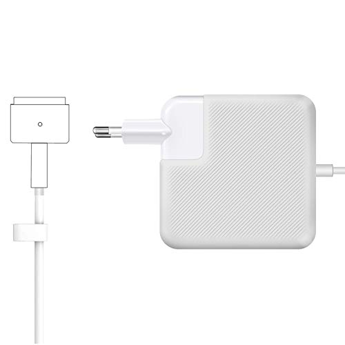 MacBook Pro Ladegerät, MacBook Air Ladegerät, 85W MagSafe 2 T-Form Netzteil Funktioniert mit 45W / 60W / 85W MacBook - 11