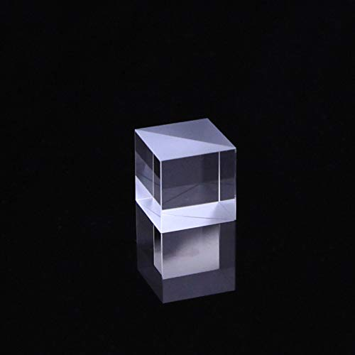 Optical Glass Cube Dichroic Beam Splitter Prism Ratio 50:50 Spectrome Sicence 15X15X15MM