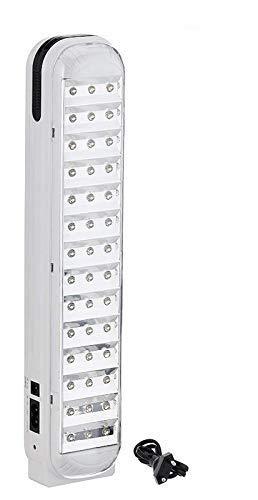 Azacus Plastic Rechargeable LED Emergency Light, White