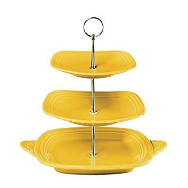 3 Tier Serving Stand Color Sunflower