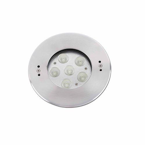 Faro Barcelona Edel 70455–inklusive Leuchtmittel LED integriert, 18W, Edelstahl, Glas transparent und PVC