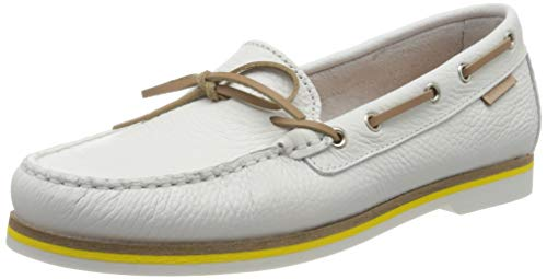 Marc O'Polo Damen 00215713101100 Segelschuhe, Weiß (White 100), 39 EU
