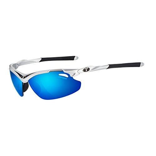 Tifosi Tyrant 2.0 Polarized Wrap Sunglasses, Race Black, 68 mm