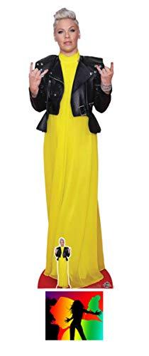 BundleZ-4-FanZ Alecia Beth Moore Pop Rock Star Lebensgrosse und klein Pappfiguren/Stehplatzinhaber/Aufsteller Fan Pack, 170cm x 52m Enthält 8X10 (25X20Cm) starfoto