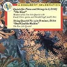 Schubert Trout Quintet / Death & Maiden Quartet