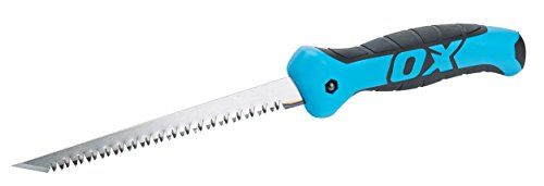 OX OX-P133116 Pro Rasping Multi Utility Metal Jab / Keyhole Saw Knife Blades with Sheath for Drywall (Plasterboard), Wood, Plastic – 6.5 inches / 165 mm, Multi-Colour