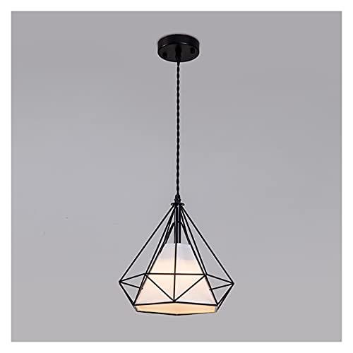 Lámparas de araña Lámparas de araña, lámparas de restaurante nórdicas, araña de dormitorio en la cama individual. lamparas colgante (Color : B)