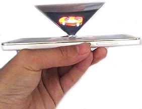 Smartphone Hologram Projector Suitable All Smartphones, Holographic Prism 2 Packs