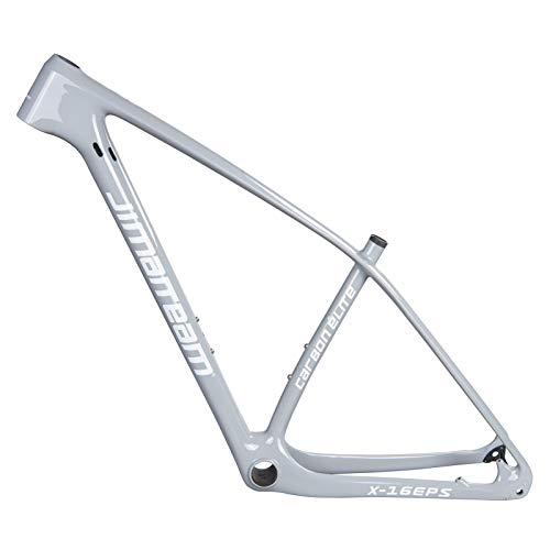 LJHBC Marco de Bicicleta T800 Cuadro de Bicicleta de montaña de Fibra de Carbono 29ER Accesorios de Bicicleta universales Freno de Velocidad Variable 15,5/17/19/21 in El Color se Puede Personalizar