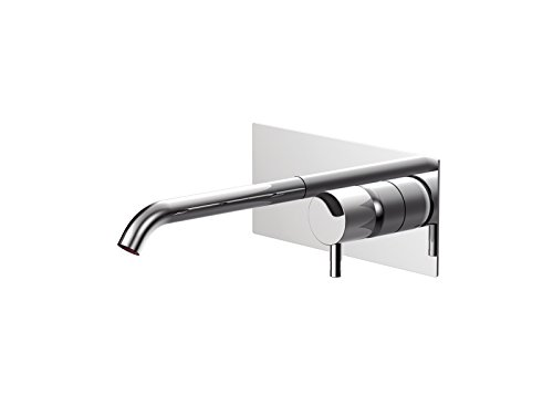 Rubinetto lavabo Ritmonio Diametro35 Inox miscelatore lavabo a muro E0BA0114C