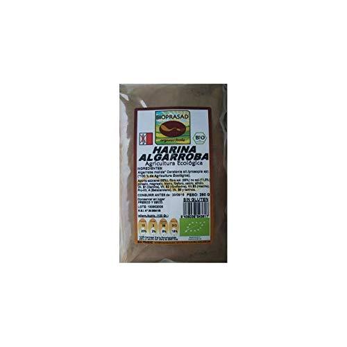 Bioprasad - Harina De Algarroba Bio 250 Gramos - Sin Gluten Sin Lactosa - Procedente De Agricultura Ecológica