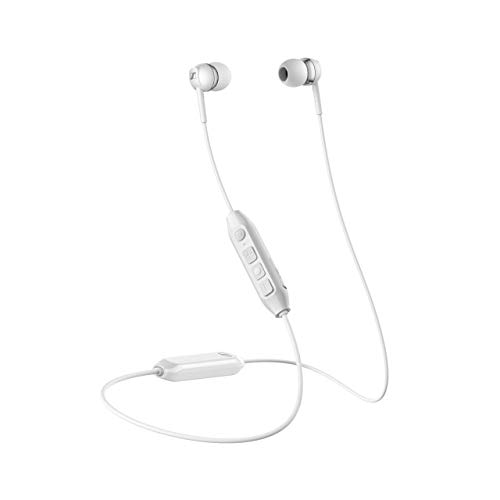 Auricular Sennheiser CX 350BT WH Wireless con tirilla al Cuello, Blanco, In Ear