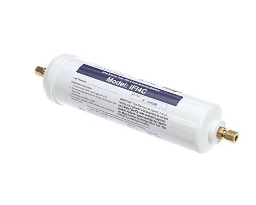 """Ice-O-Matic IFI4C in-Line Single Water Filter Cartridge for Ice Machines, 1/4"""" Size"""