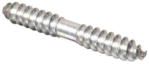 The Hillman Group 43432 1/4-Inch x 3-Inch Dowel Screw, 15-Pack,Zinc